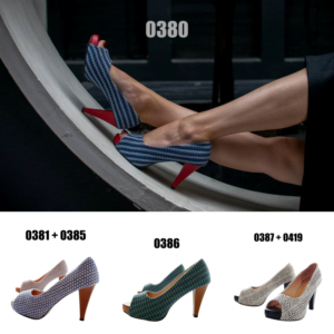 Collage Artisanal Pumps Torboon 0380 - 0381 - 0385 - 0386 - 0387 - 0419